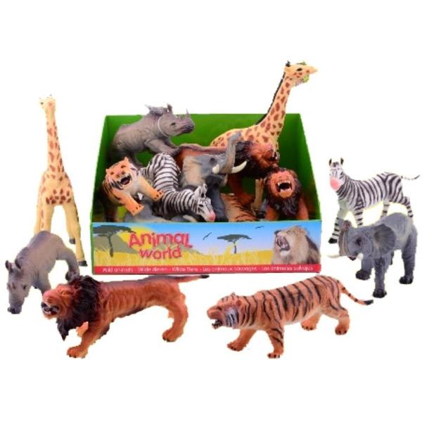 Mekane divlje životinje 25-30CM 26698 - ODDO igračke