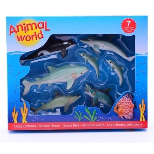 Plastične Životinje Okean 26787 - ODDO igračke