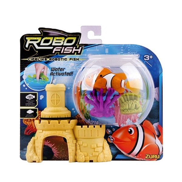 Robofish Riba, Zamak, 2 Korala  ZU2539                                                 - ODDO igračke