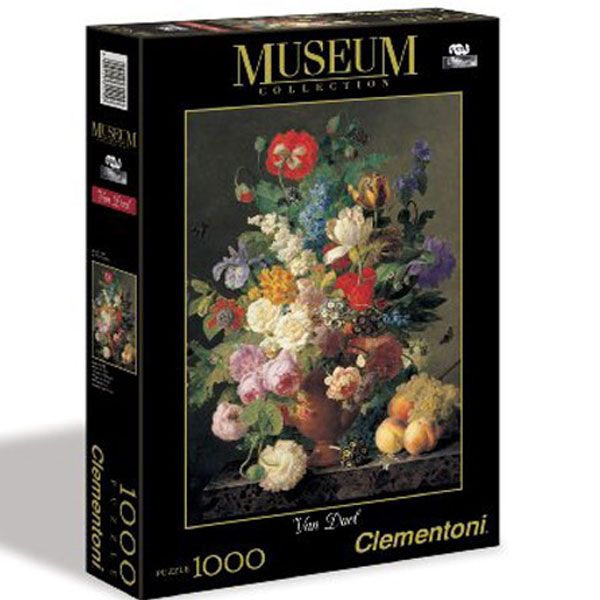 Clementoni Puzzla Bowl of Flowers, Van Deal 1000 pcs 31415 - ODDO igračke