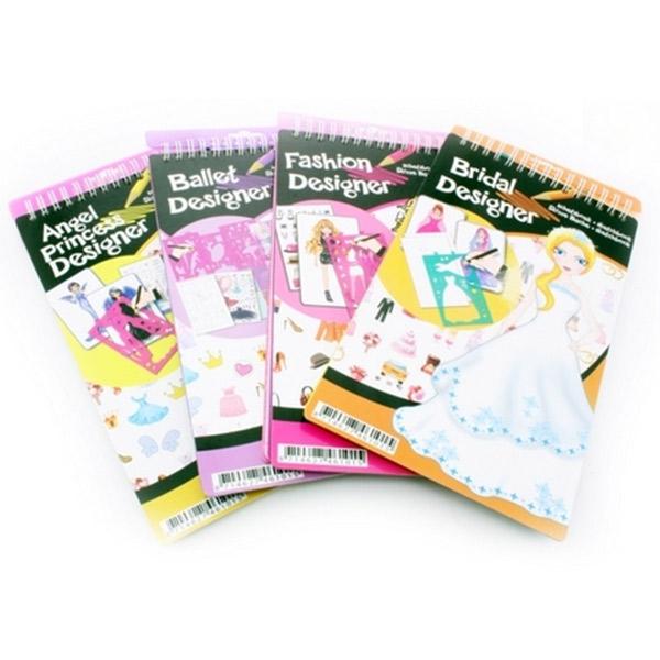 Plasticni kreativni set za crtanje fashion 46101 - ODDO igračke