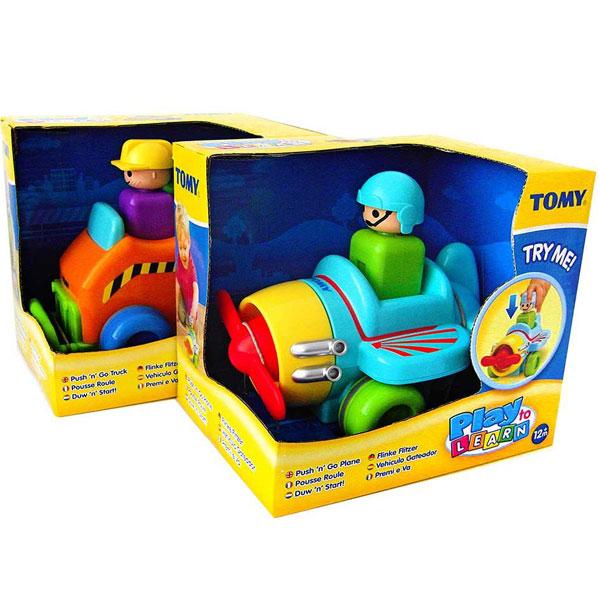 Tomy Vozila Push N Go TM1012                                                            - ODDO igračke