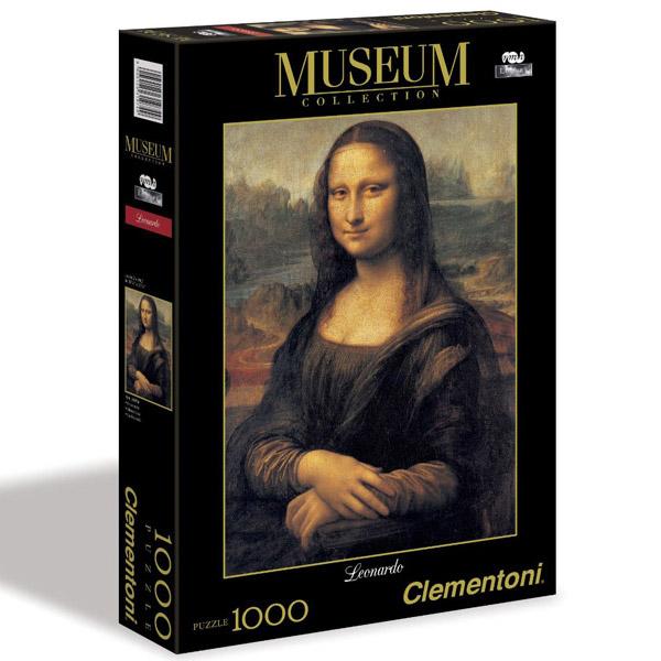 Clementoni Puzzla Mona Lisa, Leonardo 1000 pcs 31413 - ODDO igračke