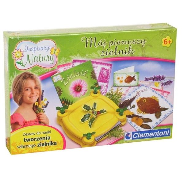 Edu set Moj prvi herbarijum Clementoni 60677 - ODDO igračke