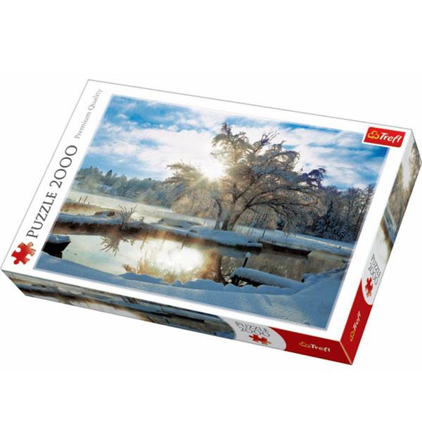 Trefl Puzzla Dawn at Lake 2000pcs 27044 - ODDO igračke