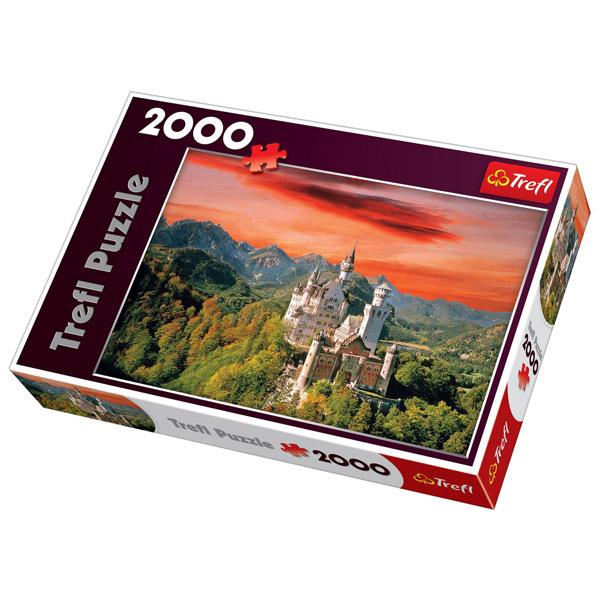 Trefl Puzzla The Neuschwanstein Castle, Bavaria 2000 pcs 27050 - ODDO igračke