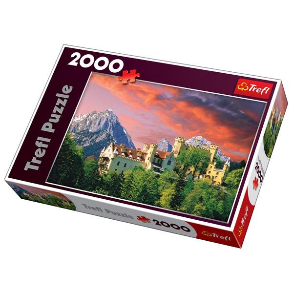Trefl Puzzla The Hohenschwangau Castle, Bavaria 2000pcs 27053 - ODDO igračke