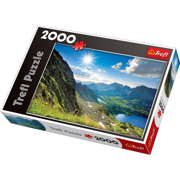 Trefl Puzzla Dolina Pieciu Stawow, The Tatras 2000 pcs 27047 - ODDO igračke