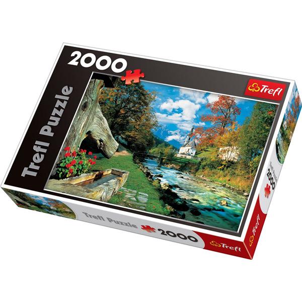 Trefl Puzzla Bavarian Alps, Germany 2000 pcs 27061 - ODDO igračke