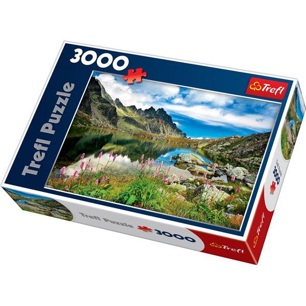 Trefl Puzzla Starolesnianski Pond, Tatras, Slovakia 3000 pcs 33031 - ODDO igračke
