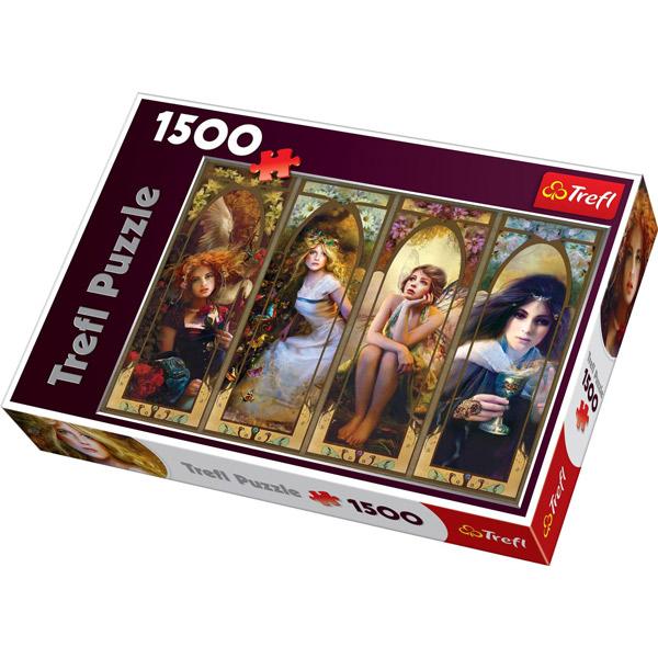 Trefl Puzzla Fantasy Collage 1500 pcs 26116 - ODDO igračke