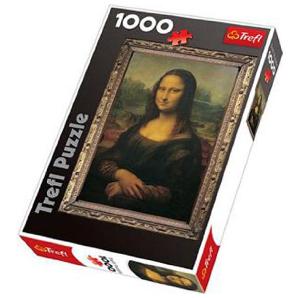 Trefl Puzzla Mona Lisa 1000 pcs 10002 - ODDO igračke