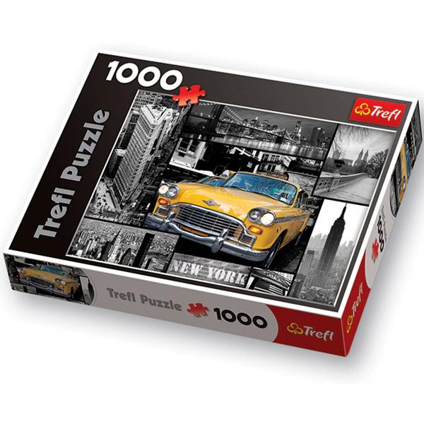 Trefl Puzzla New York Collage 1000 pcs 10271 - ODDO igračke