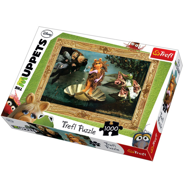 Trefl Puzzla The Muppets, Disney Muppets 1000 pcs 10287 - ODDO igračke