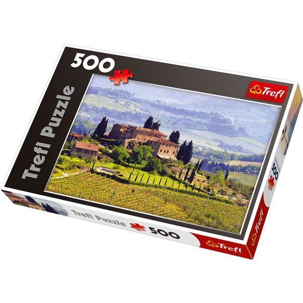 Puzzla Tuscany, Italy 500 pcs 37162 - ODDO igračke