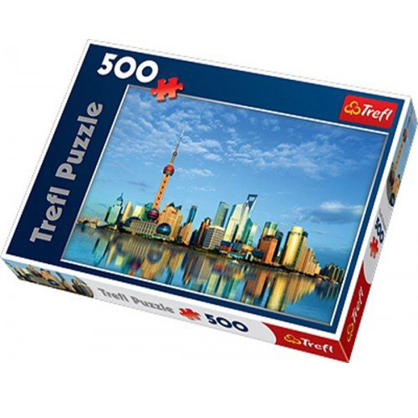 Trefl Puzzla Shanghai, China 500 pcs 37163 - ODDO igračke