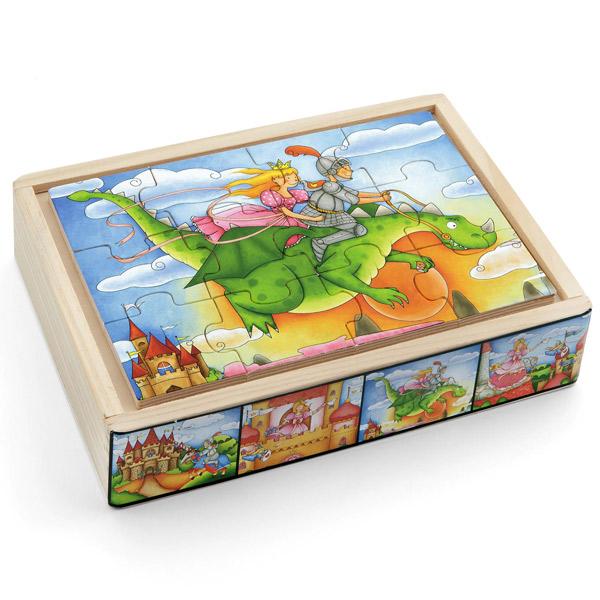 Pino puzzle u kutiji bajka 12 elemenata 4 motiva 3708-2 - ODDO igračke