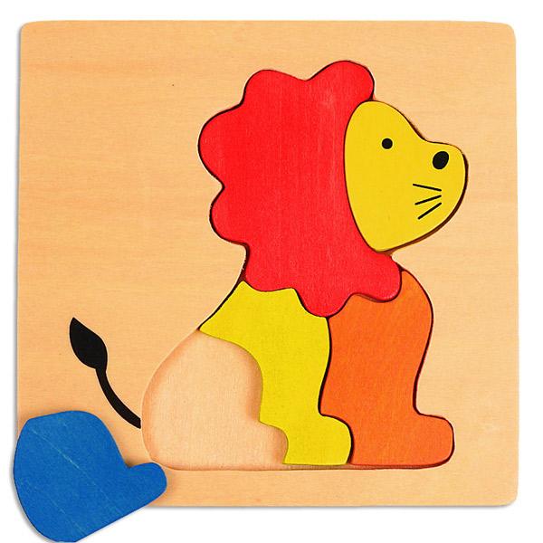 PINO Mini puzzle Lav 7609-4 - ODDO igračke