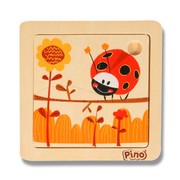 PINO Mini puzzle 4 elementa- BUBAMARA 4733-2 - ODDO igračke