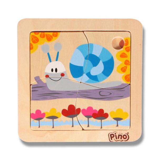PINO Mini puzzle 4 elementa- PUŽ 4733-4 - ODDO igračke