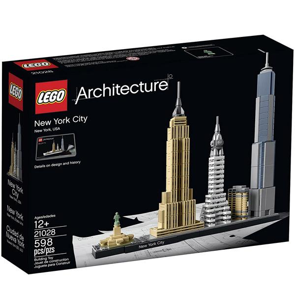 LEGO ARCHITECTURE New York City LE21028 - ODDO igračke