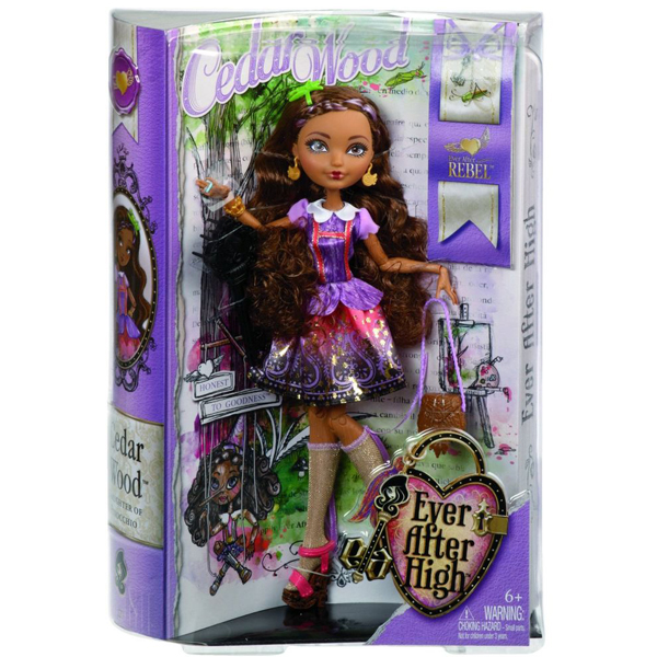 Lutka Ever After High Cedar Wood BJG83 - ODDO igračke