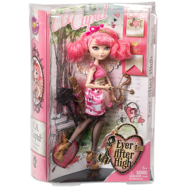 Lutka Ever After High Rebel Cupid BJG73 - ODDO igračke