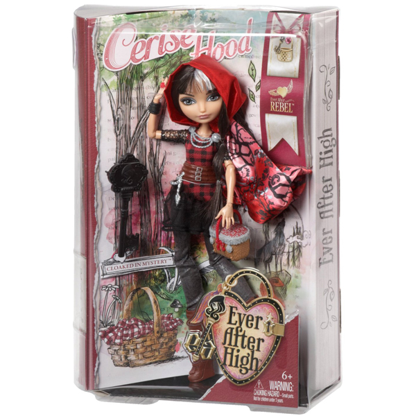 Lutka Ever After High Cerise Hood Rebel BJG63 - ODDO igračke