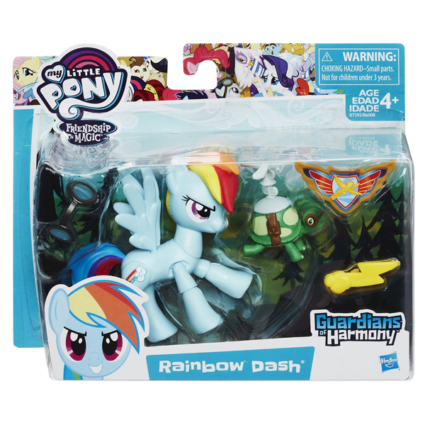 My Little Pony Guardians of Harmony Rainbow Dash B7296 - ODDO igračke