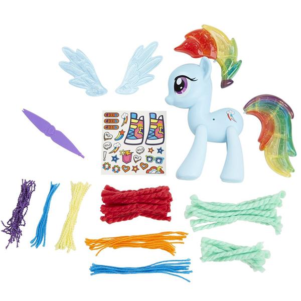 My Little Pony Rainbow Dash Design a Pony B3593 - ODDO igračke