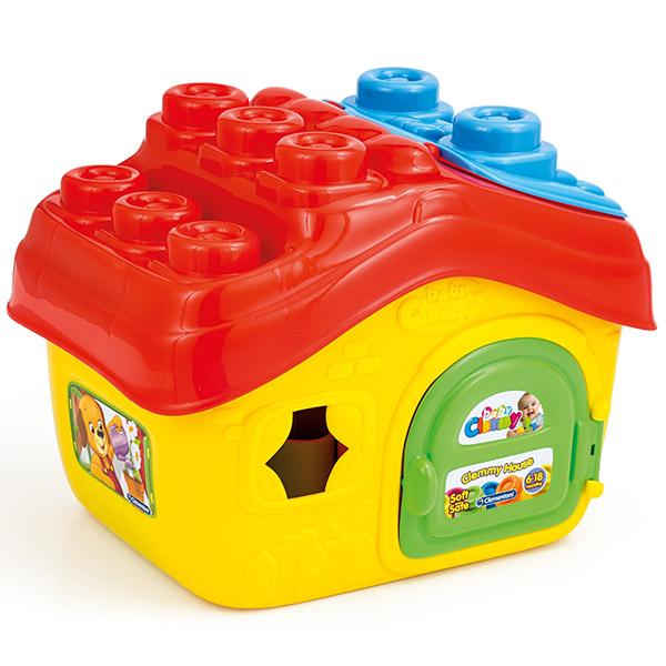Mekane gumene kocke Clemmy Kuća CL14754 - ODDO igračke