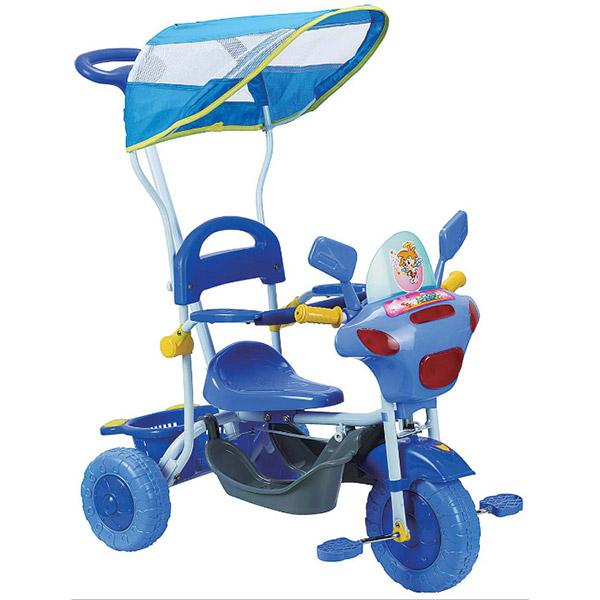 Tricikl sa ručkom i tendom Atom Mrav 4620 - ODDO igračke