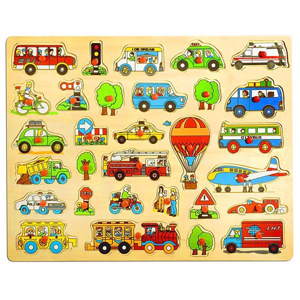 Drvena velika slagalica- Saobraćaj 4556A2 - ODDO igračke