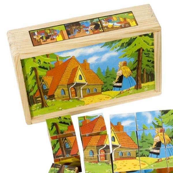 Drvene kocke Bajka 3586-1 - ODDO igračke