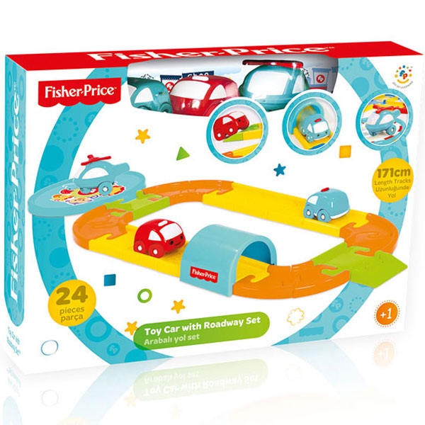 Auto set Fisher Price 018175 - ODDO igračke