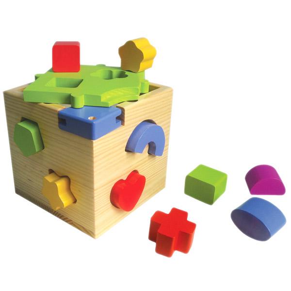 Drvena Didaktička Kocka 7272 - ODDO igračke