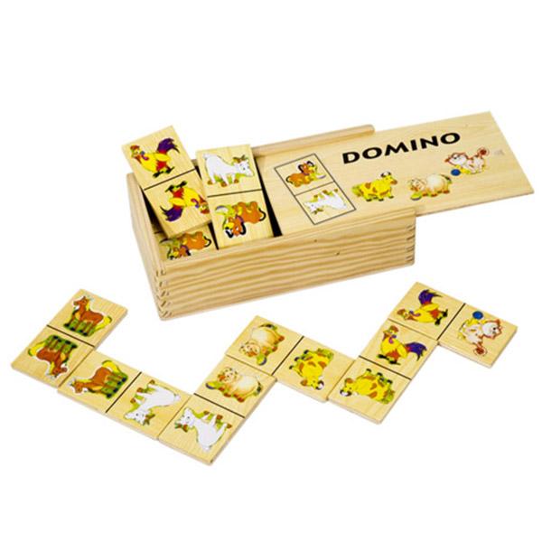 Domine drvene Farma 4098-1 - ODDO igračke