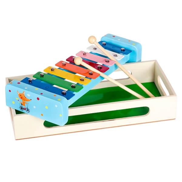 Ksilofon drveni lija 7227-3 - ODDO igračke