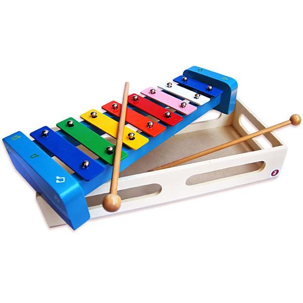 Ksilofon drveni Plavi 7227-3 - ODDO igračke