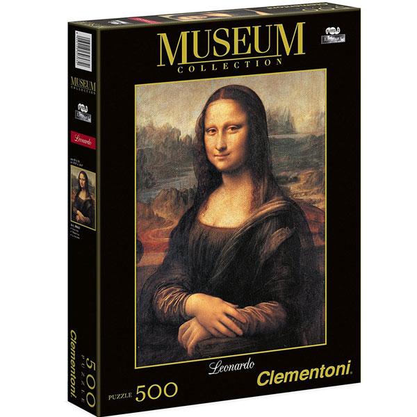 Clementoni Puzzla Mona Lisa 500 pcs 30363 - ODDO igračke