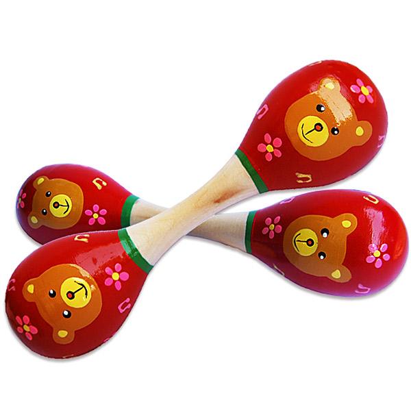 Zvečka Drvena Meda 7531-2 - ODDO igračke
