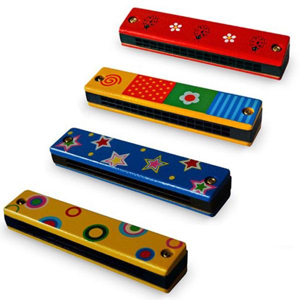 Drvena Usna Harmonika 7630 - ODDO igračke