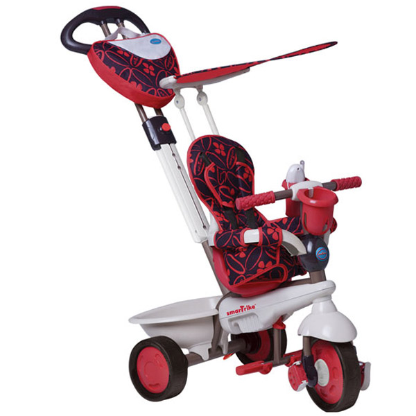Tricikl Smart Trike Dream Team - Crveni 1590500 - ODDO igračke