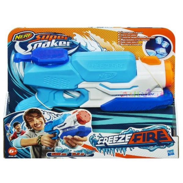 Nerf Super Soaker Freezefire A4838   - ODDO igračke