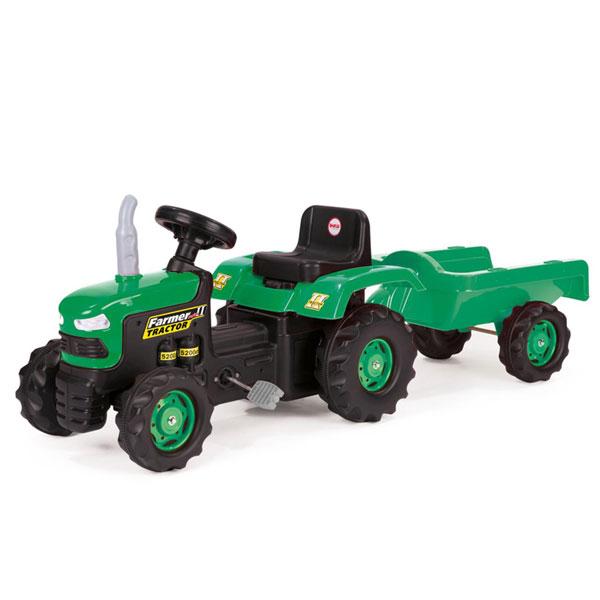 Traktor na Pedale sa prikolicom Dolu 080530 - ODDO igračke