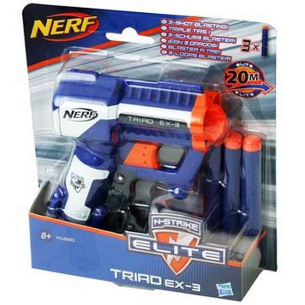 Nerf Pištolj Triad EX3 A1690 - ODDO igračke