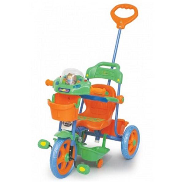 Dečiji Tricikl - Zeleno Narandžasti 0139686z - ODDO igračke