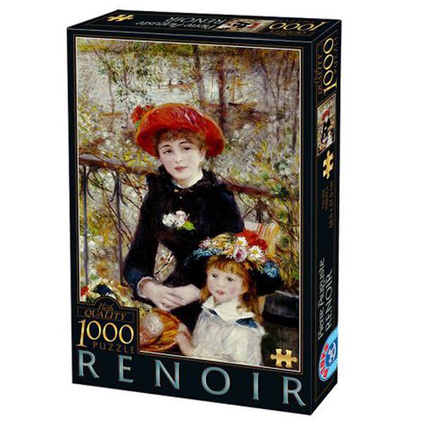 DToys puzzla Two Sisters, Renoir 1000 pcs 07/66909-01 - ODDO igračke