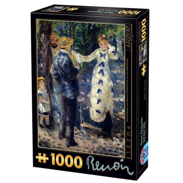 DToys puzzla The Swing, Renoir 1000 pcs 07/66909-03 - ODDO igračke