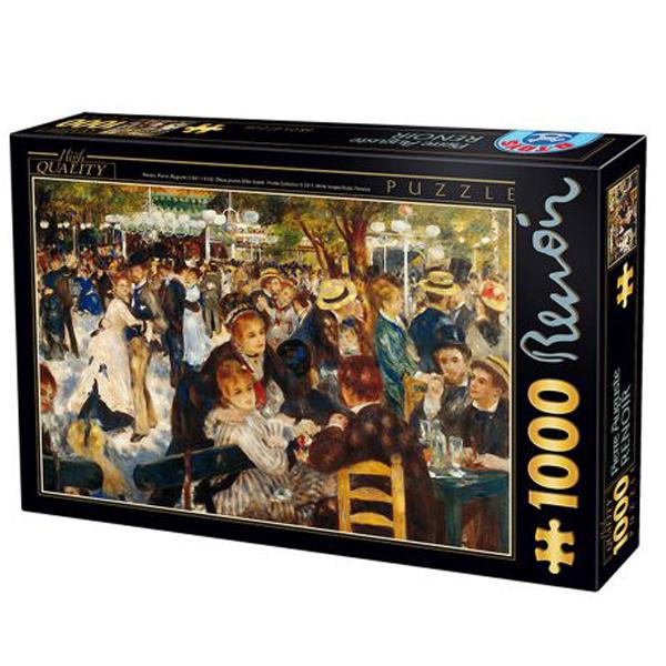DToys puzzla Dance at The Moulin, Renoir 1000 pcs 07/66909-06 - ODDO igračke